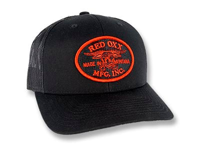 Red Oxx Patch Trucker Hat