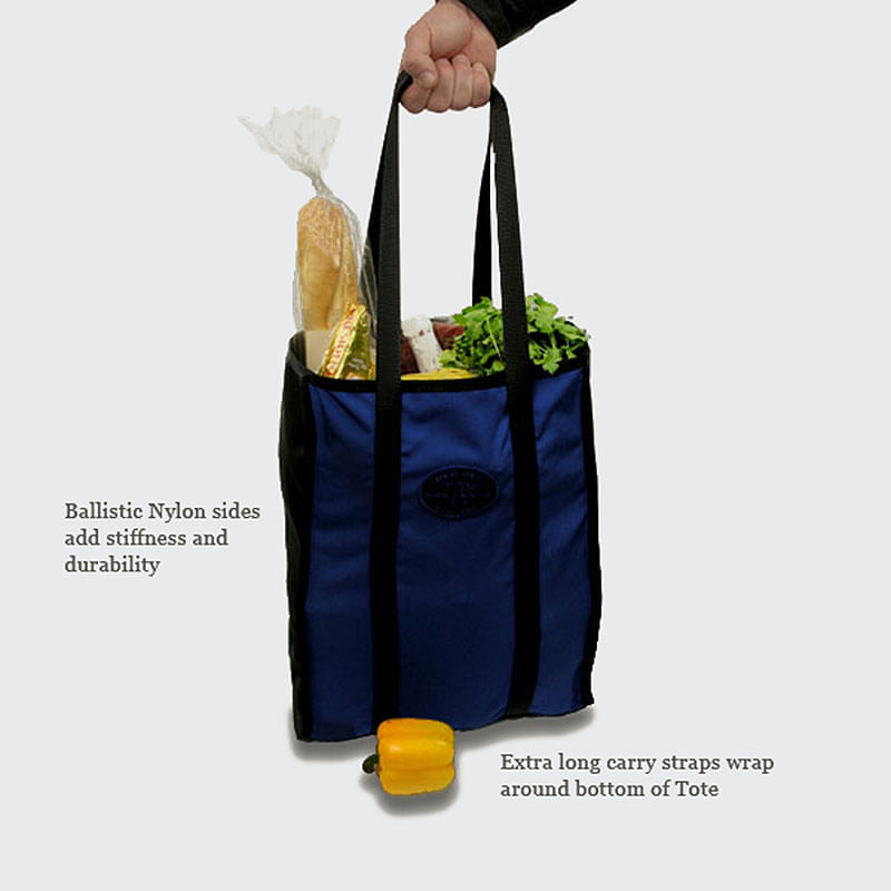 Handles wrap all the way around unlike other totes