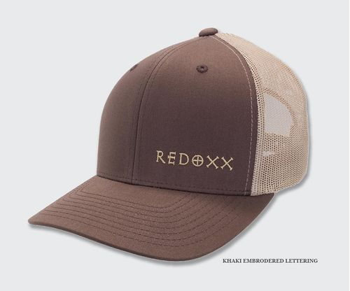 Red Oxx Crosshairs Trucker Hat