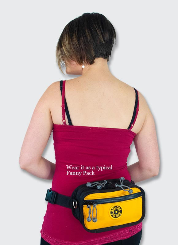 Use waist belt to carry on your waist