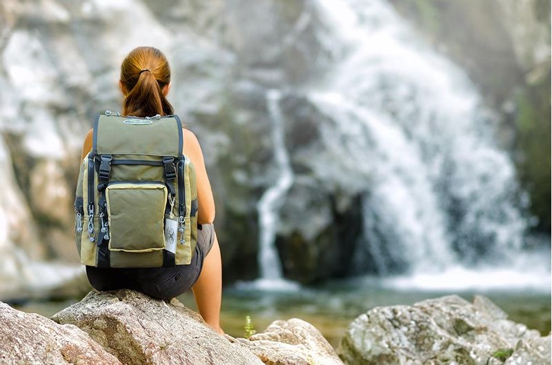 The C-ruck is great for short hiking trips