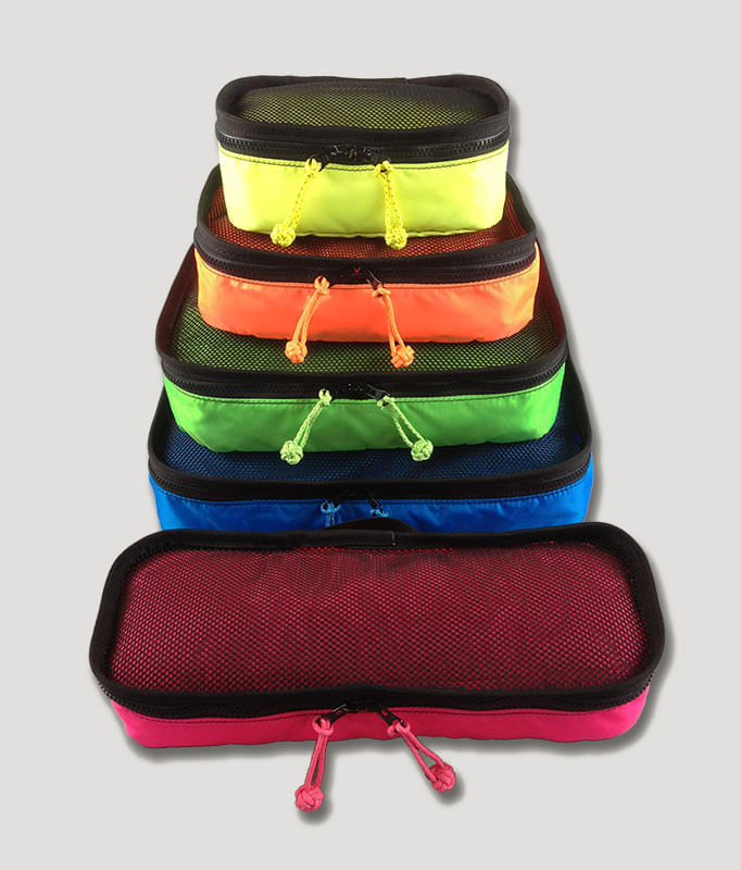 Get all 5 packing cubes in a set