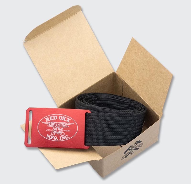 Red-Oxx-Original-Belt-by-Grip6 recycled packaging