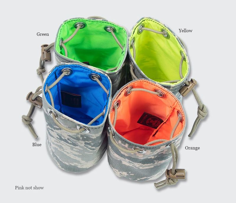 Red Oxx Possibles Pouch comes in 5 colors