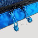 Matching reflective monkey fist zip knots on #5 YKK zippers