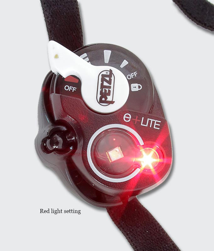 Emergency use red LED Lamp