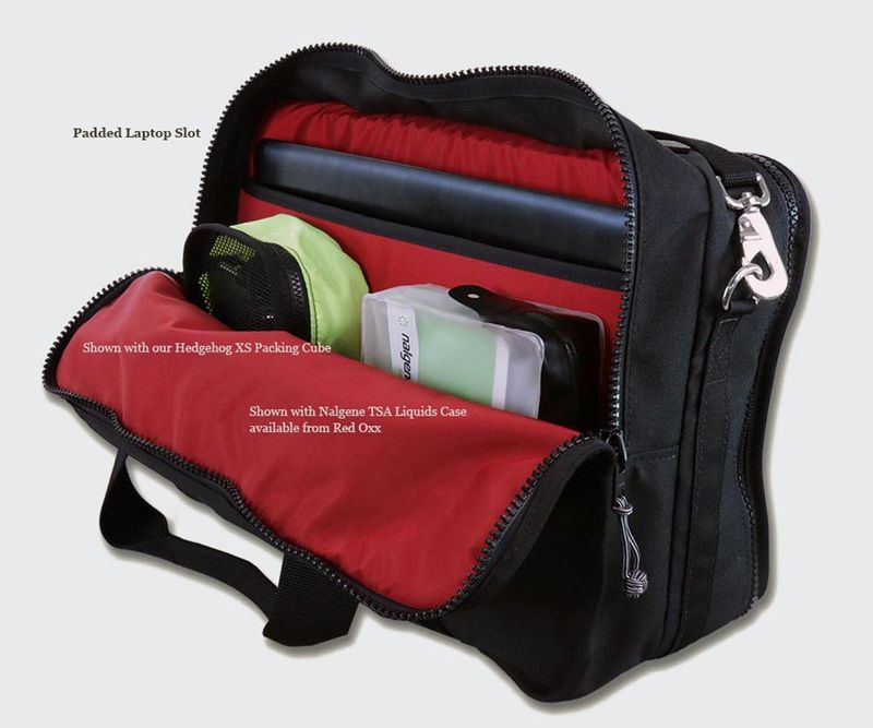 The back compartment is perfect for your laptop and all its accessories