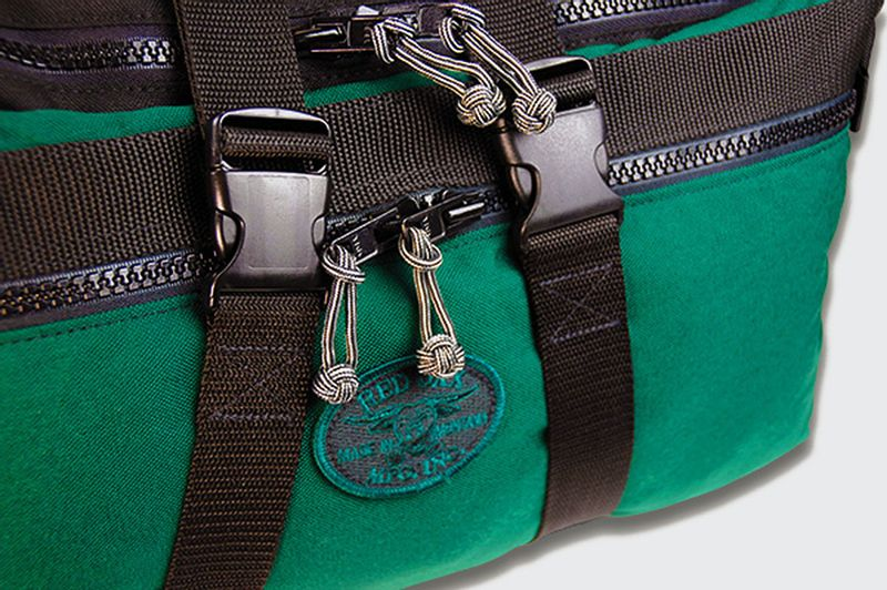 Compression straps help cinch bag tighter