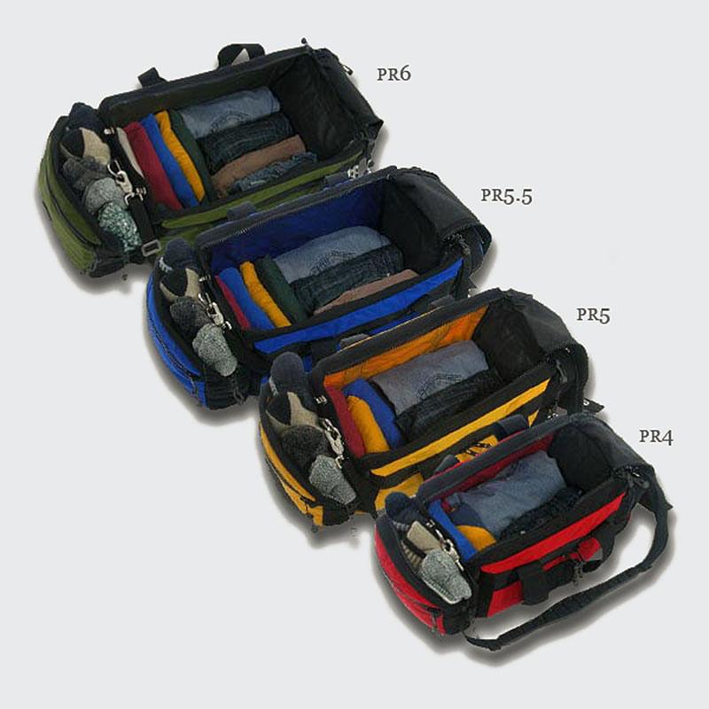 Size comparison, top to bottom PR6, PR5.5, PR5, PR4