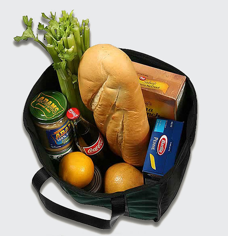 Look at all the Groceries the Market Tote can hold