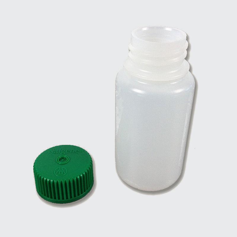 Nalgene 3 ounce bottle green lid