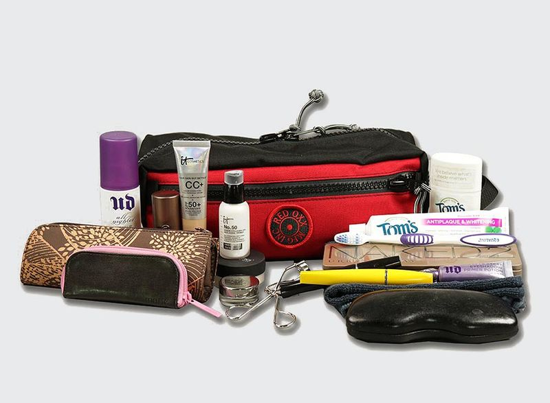 You can pack all your toiletry needs in the nomad