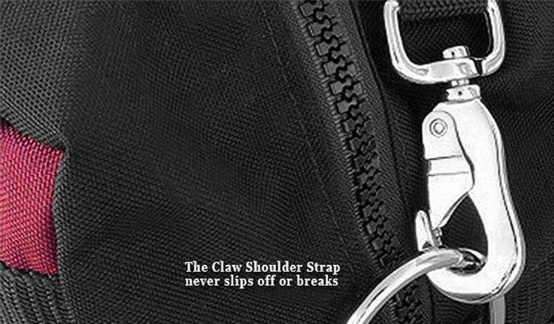 Claw strap heavy-duty steel clasp