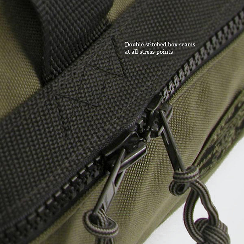 All zippers have Monkey Fist Zipper Pulls