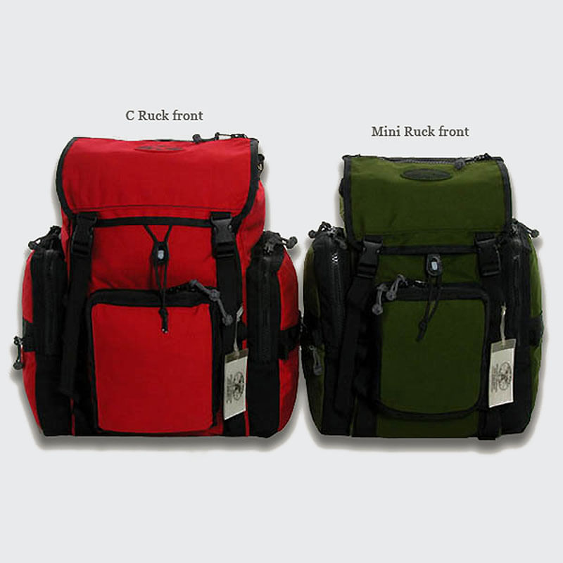 One rugged ruck, two ideal sizes