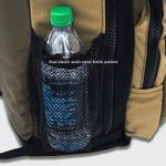 Mesh water bottle pockets on sides