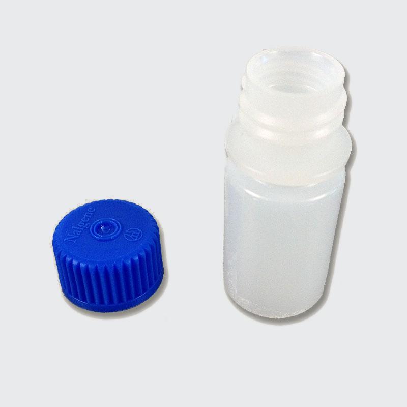 Nalgene 3 ounce bottle blue lid