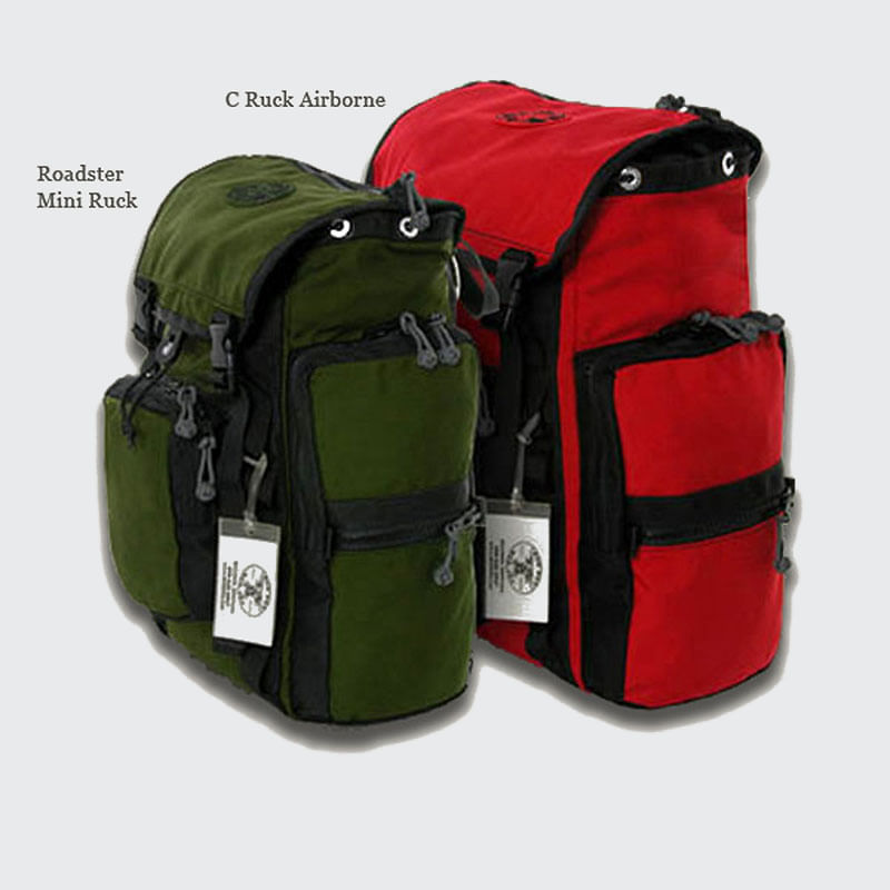 "The C-Ruck is 17""high x 15"" wide x 7"" deep"