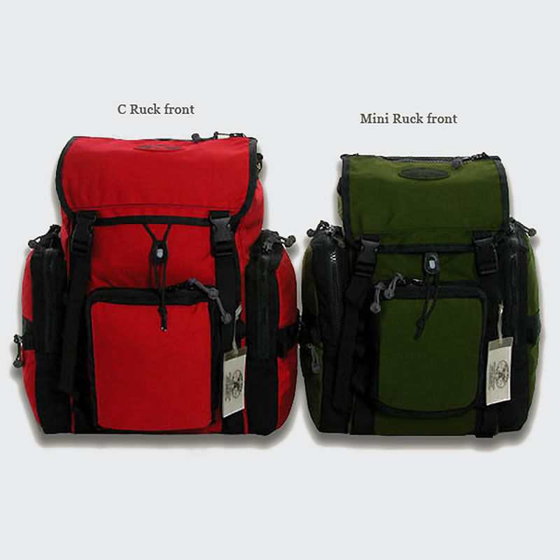 One ideal ruck, two ideal sizes