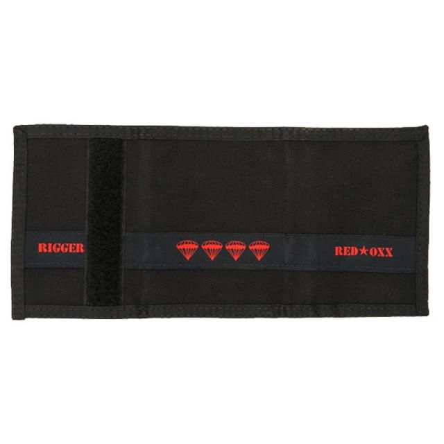 Red Oxx Rigger Wallet is made in USA