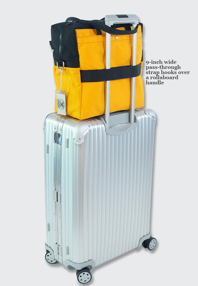 Trolley sleeve to slip over your wheeled luggage