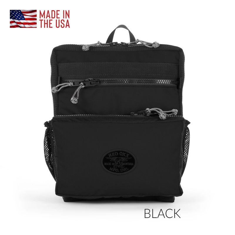 Red Oxx K-12 Kat Pack Backpack in Black