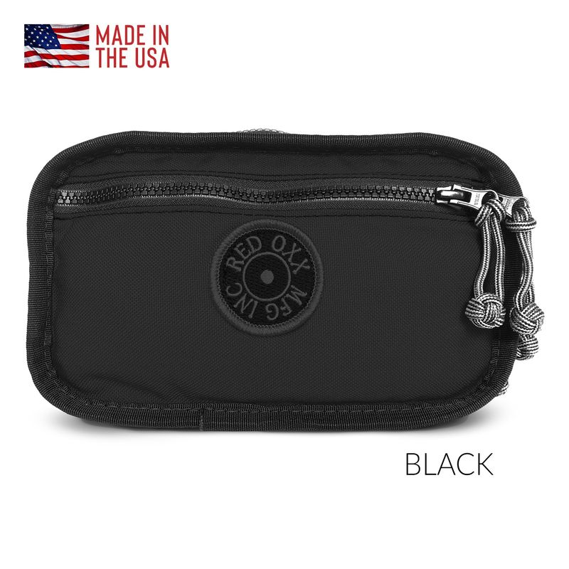 Red Oxx Booty-Boss-Waist Pack in-Black