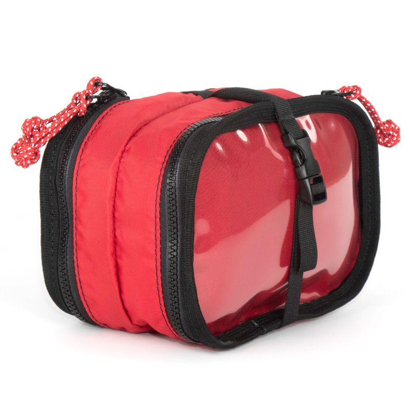Fastex buckle in the center to hang your lady bug or wrap around to help secure your items