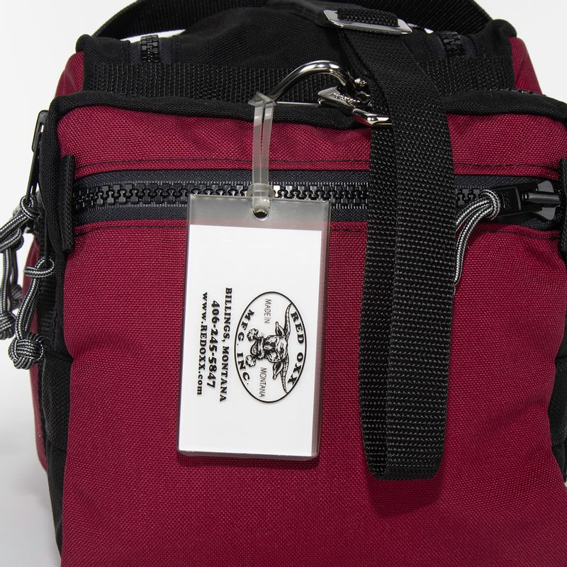 Shown on a Red Oxx Beano Bag