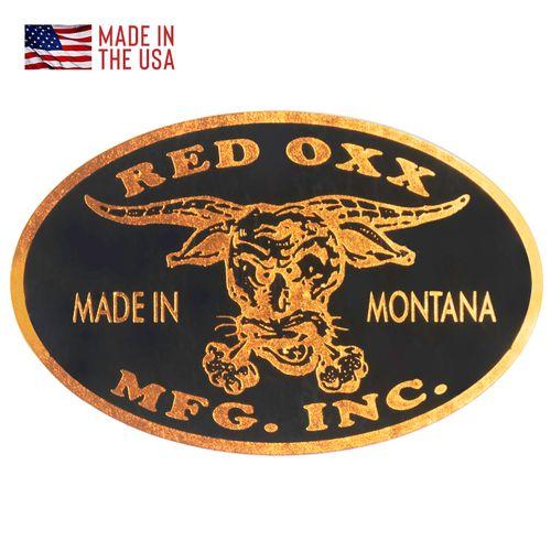 Red Oxx Logo Sticker