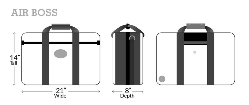 Airboss Dimensions
