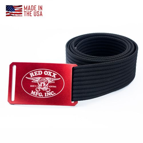 Red Oxx Logo Belt by Grip6