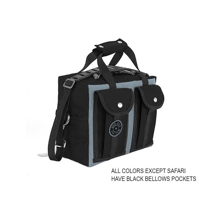 Red-Oxx-Gator-Medium-EDC-Bag-with-Black-Bellows-Pockets
