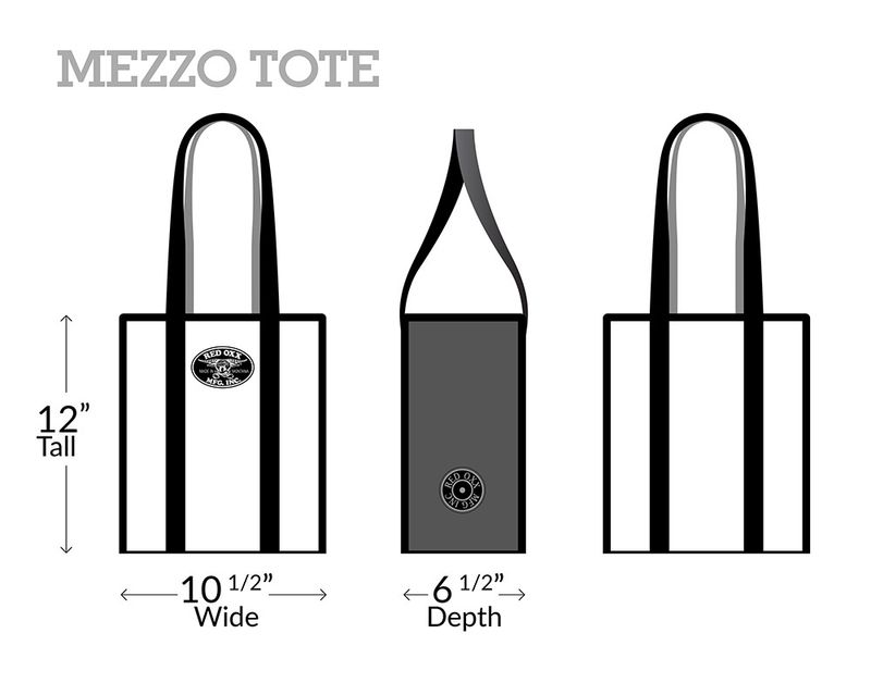 Red-Oxx-Mezzo-Tote-Dimensions----12inHx6.5inDx10.5inW