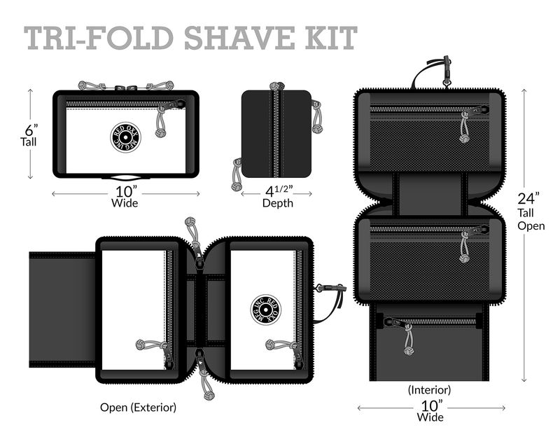 Red-Oxx-Tri-fold-Shave-Kit-Measurements