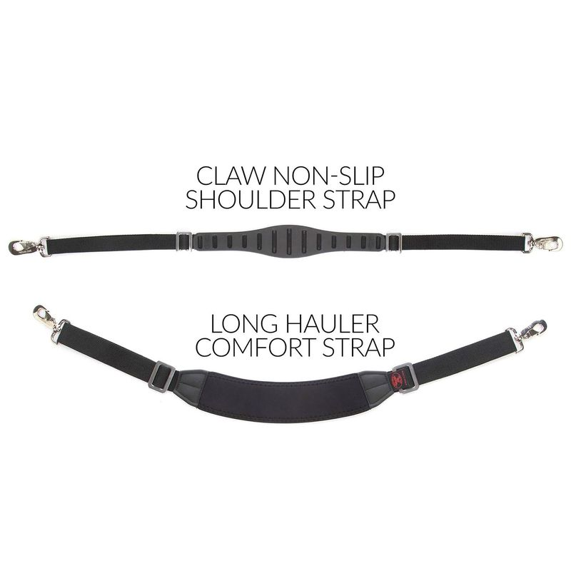 Compare-the-Claw-strap-with-the-Long-Hauler