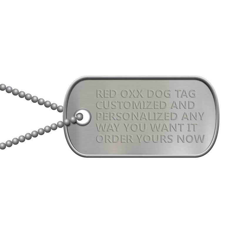 Red-Oxx-Dog-Tag-Personalized-and-Customized-any-way-you-want