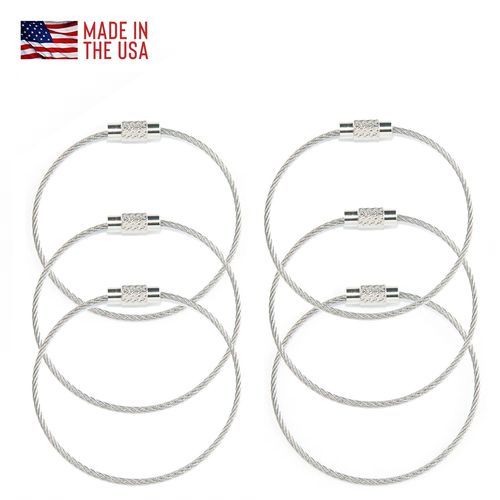 Cable Locks 6 Pack