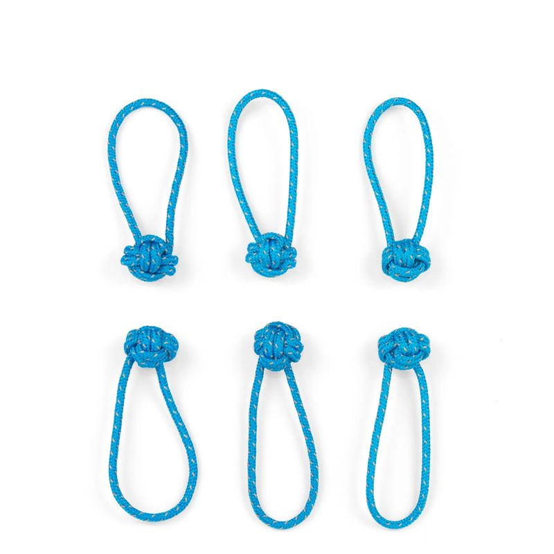 Red-Oxx-Reflective-Monkey-Fist-Zip-Knots-6-pack---Blue