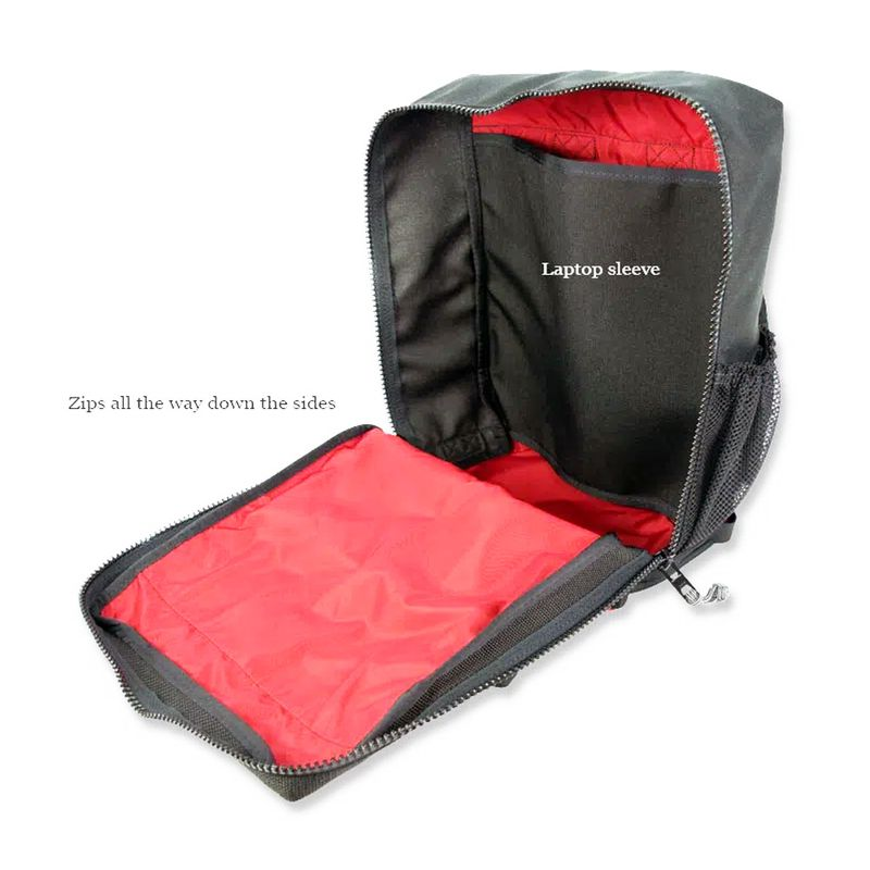 Red-liner-helps-see-inside-the-backpack